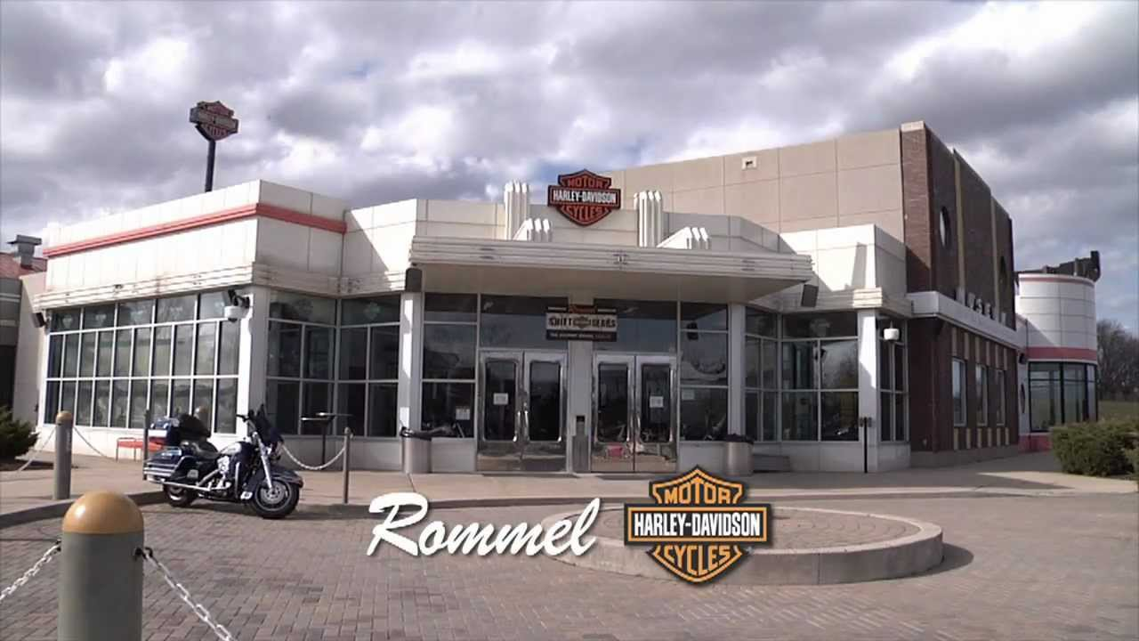 rommel harley-davidson new castle/smyrna bookend 2 - youtube