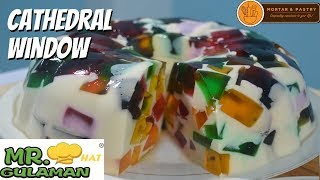 CATHEDRAL WINDOW JELLY DESSERT | Ep. 73 | Mortar and Pastry