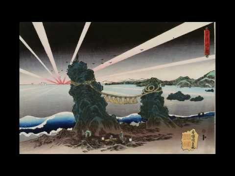 Dan no Ura (Biwa set to Ukiyo-e)