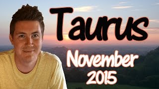 Horoscope for Taurus November 2015 | Predictive Astrology
