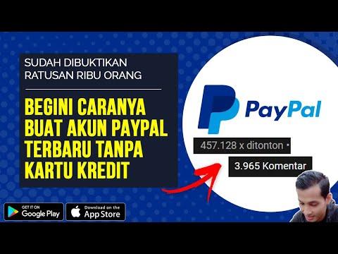 Cara Buat Akun Paypal Terbaru 2020 Tanpa Kartu Kredit Langsung Aktif Dan Bisa Terima Dollar