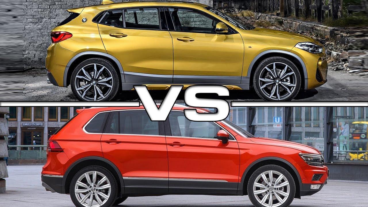 2018 BMW X2 vs 2017 Volkswagen Tiguan - YouTube