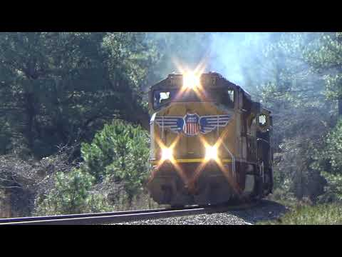 1080p HD 60fps: A Weekend On CSX In South Georgia And Southeast Alabama 3/3 & 3/4/18