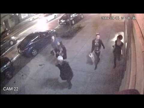 New York bomb blast captured on camera