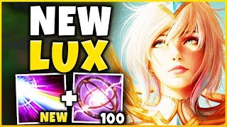 *NEW UPDATE* LUX IS NOW AN ASSASSIN (RIOT MESSED UP HUGE) - League of Legends