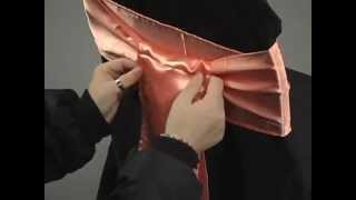 Sash Tying Tutorial: The Wrap by LinenTablecloth