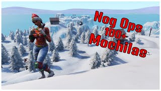 SHOWING SKIN NOG OPS & 100 + BACKPACKS | FORTNITE