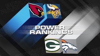Power Rankings (Week 11) | Are the Arizona Cardinals NFL's Most Complete Team? | NFL Now