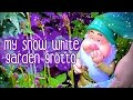 My Very Own Snow White Garden Grotto!