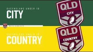 QLD U16 City vs QLD U16 Country 2019