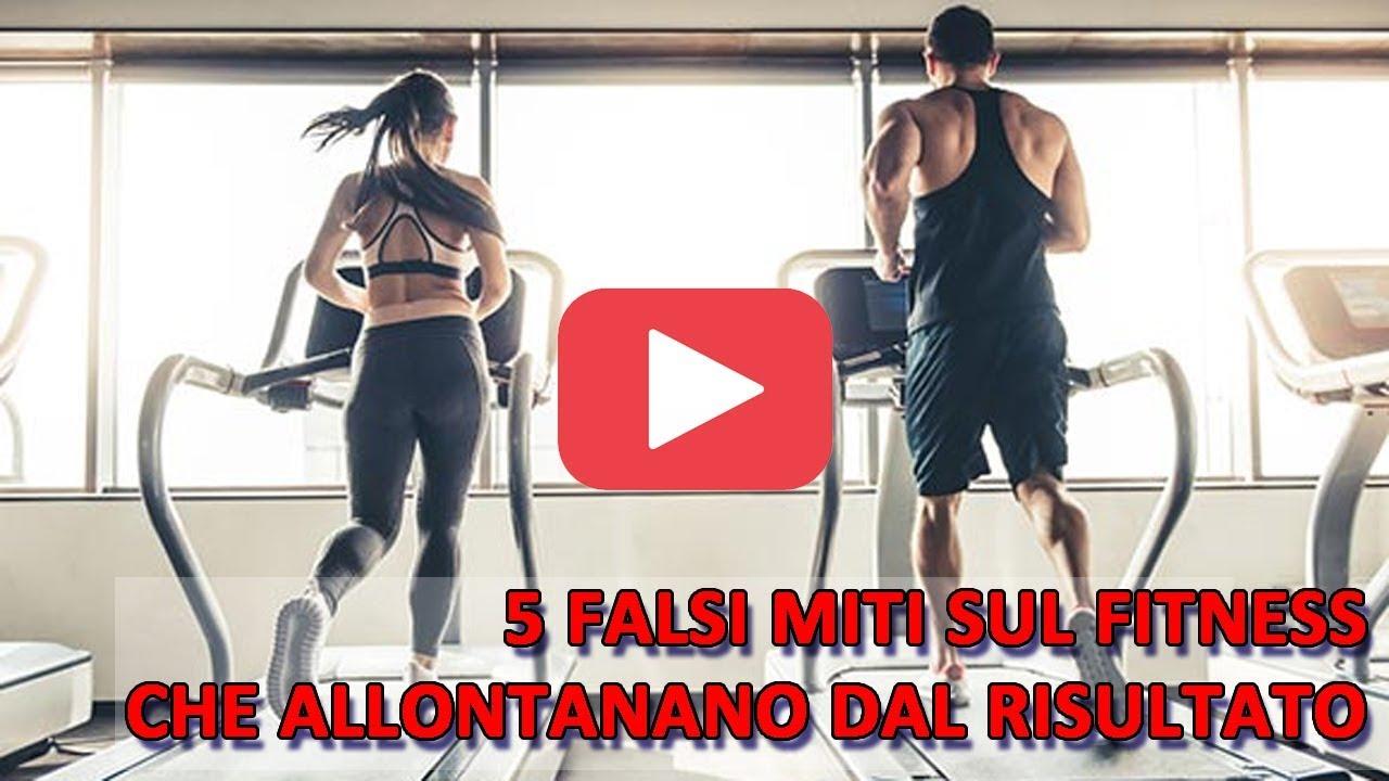 5 falsi  miti sul fitness che allontanano dal risultato!