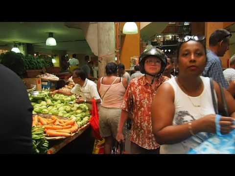 A walk through Port Louis central market