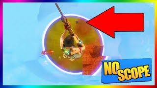 CE MEC REALISE UN NO SCOPE EN SAUTANT D'UNE BASE AÉRIENNE !!! // FORTNITE BATTLE ROYALE