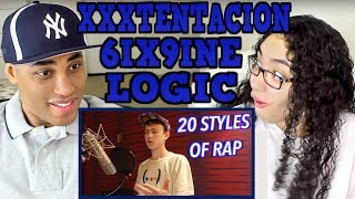 20 Styles of Rapping! (LOGIC, XXXTENTACION, 6IX9INE & MORE) REACTION | MY DAD REACTS