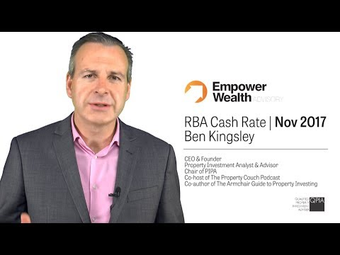 RBA Cash Rate November 2017 - Commentary by Ben Kingsley
