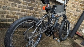 Bafang mid drive BBS02 Quick Install Guide - (ebike kit on a Dahon Jetstream)