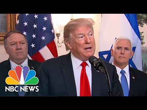Special Report: Trump Speaks During Netanyahu White House Visit   NBC News