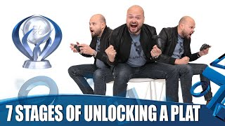 7 Stages Everyone Goes Through When Unlocking A Platinum Trophy