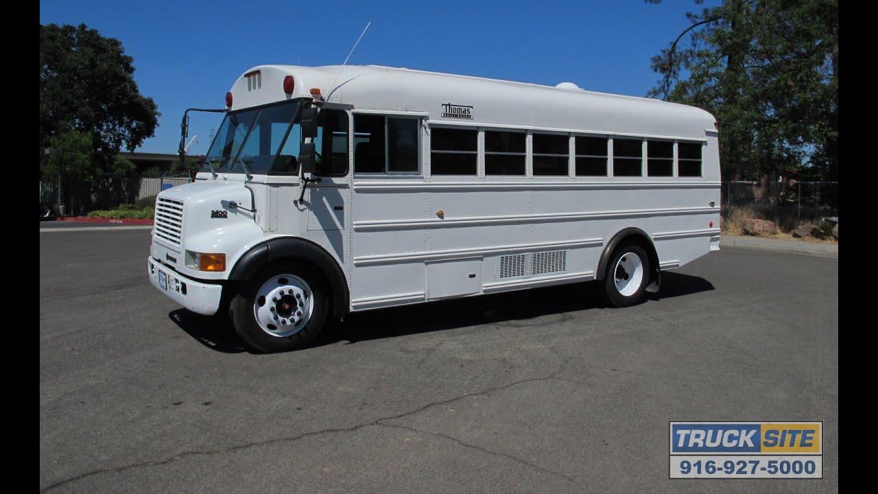 Thomas Built Buses >> 1998 International 3600 Thomas Built 23 Passenger Jail Bus ...