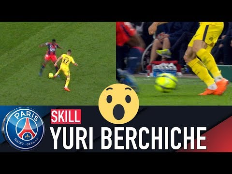 SKILL / GESTE TECHNIQUE : YURI BERCHICHE - CAEN vs PARIS SAINT-GERMAIN
