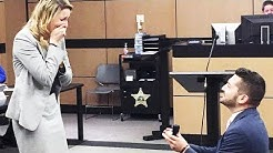 Florida Lawyer Creates Fake Trial to Propose to Girlfriend