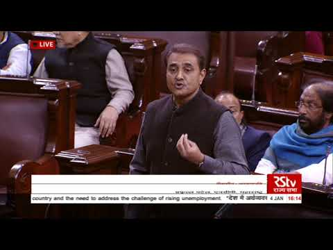 Sh. Praful Patel's speech  Short Duration Discussion on the state of economy