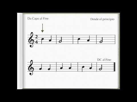 Signos de repetición | Lecciones | Solfeo