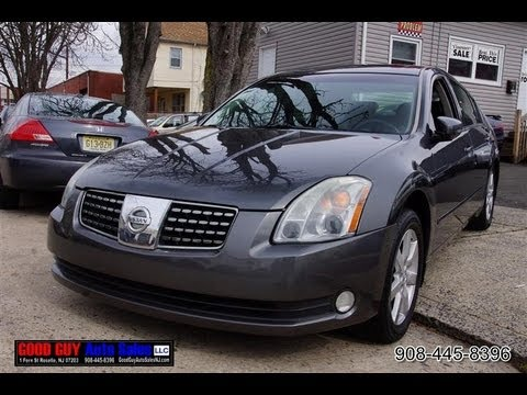 2004 Nissan Maxima 35 Sl Sedan Youtube