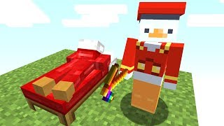 Ich Trolle ihn mit einem Bett Skin😂👍.. Minecraft LUCKY BLOCK BEDWARS