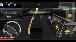 Bus Simulator Game 2019 - Airport City Driving 3D - Android Gameplay HD