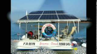 Солнцемаран - клип(На маленьком плоту. Юрий Лоза Катамаран на солнечных батареях., 2014-07-15T21:00:49.000Z)