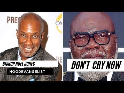 False Pastors Exposed: Bishop noel jones breaks my heart to see you cry | Hood Evangelist