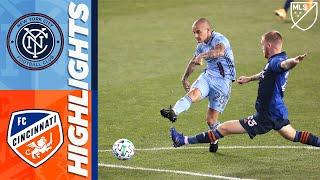 New York City FC vs. FC Cincinnati   September 26, 2020   MLS Highlights