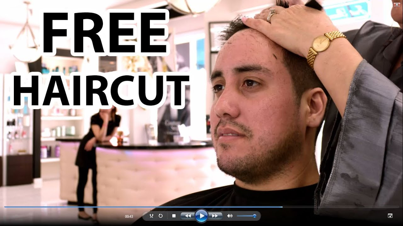 How To Get A Free Haircut Youtube