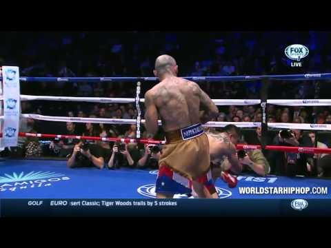 Victor Ortiz vs Luis Collazo | Victor Gets Knocked Out Again!