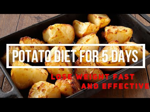 I tried potatoes diet for weight loss in just 5 days