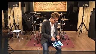 iPad Drum vs Real Drum
