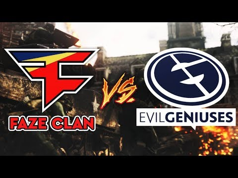 FAZE CLAN vs EVIL GENIUSES (Enable's New Team)