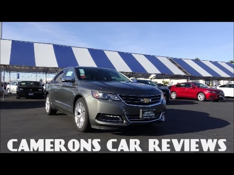 2016 Chevrolet Impala 2LTZ Review: A Competent Full Size Sedan | Camerons Car Reviews