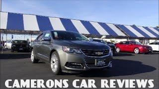 2016 Chevrolet Impala 2LTZ Review: A Competent Full Size Sedan | Camerons Car Reviews