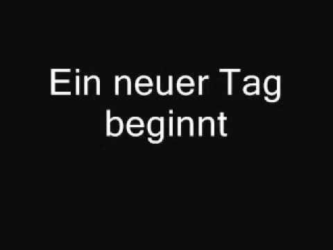 Lacrimosa - Der Morgen Danach lyrics
