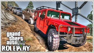 GTA 5 Roleplay - HUGE OFFROAD TRAIL RIDE OUT MEET | RedlineRP #36