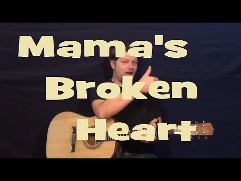 Mama\'s Broken Heart (Miranda Lambert) Easy Strum Guitar Lesson - How ...