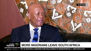 More Nigerians leave South Africa