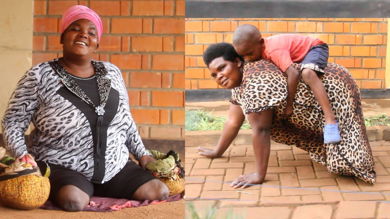 The Mother Of Eight With No Legs Shocked Everyone : EXTRAORDINARY STORY