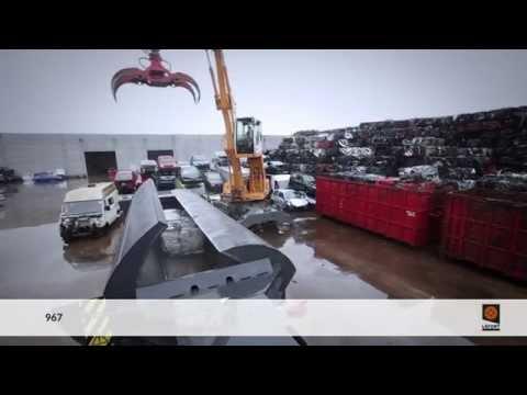 LEFORT scrap metal & car baler / presse P967 Mobile