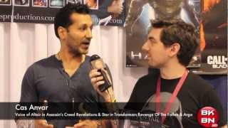 Video WonderCon 2013 Interview With Cas Anvar Voice of Altair In Assassin's Creed Revelations! download MP3, 3GP, MP4, WEBM, AVI, FLV Oktober 2017