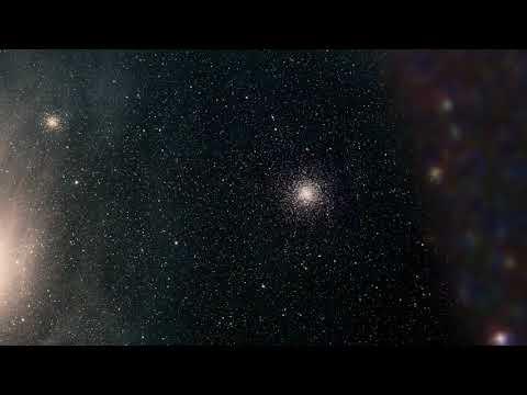 Animation Zoom into M4 Globular Cluster
