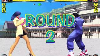 (Retro Game) Rival Schools : United By Fate Arcade JUSTICE HS play