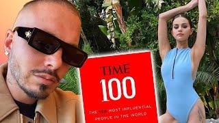 J Balvin y Selena Gomez en los 100 Más Influyentes de la Revista Time